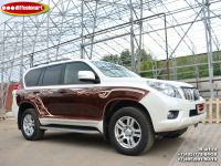 Аэрография автомобиля Toyota Land Cruiser Prado. Фото 5