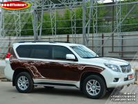 Аэрография автомобиля Toyota Land Cruiser Prado. Фото 9