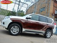 Аэрография автомобиля Toyota Land Cruiser Prado. Фото 12