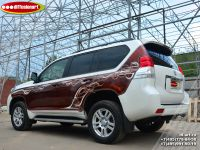 Аэрография автомобиля Toyota Land Cruiser Prado. Фото 13