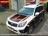 Аэрография автомобиля Toyota Land Cruiser Prado. Фото 18