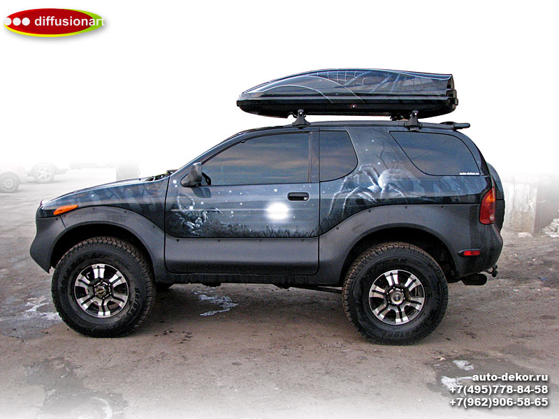 Isuzu VehiCross. Spiders