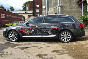 Audi Allroad. Transformers