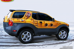 Isuzu VehiCross. Yellow submarine