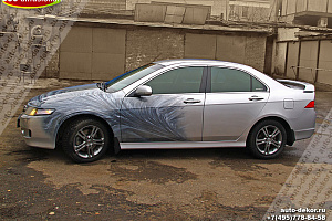 Honda Accord, Аэрография